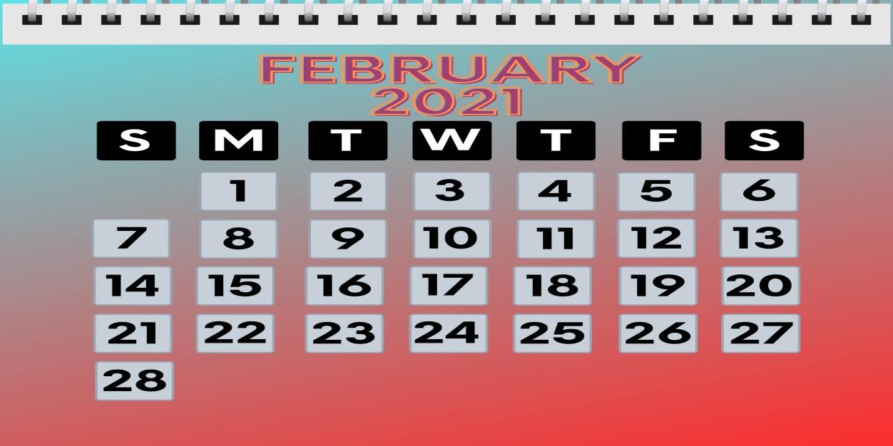 February 2021 Calendar iPad Wallpaper - HD iPad Wallpapers ...