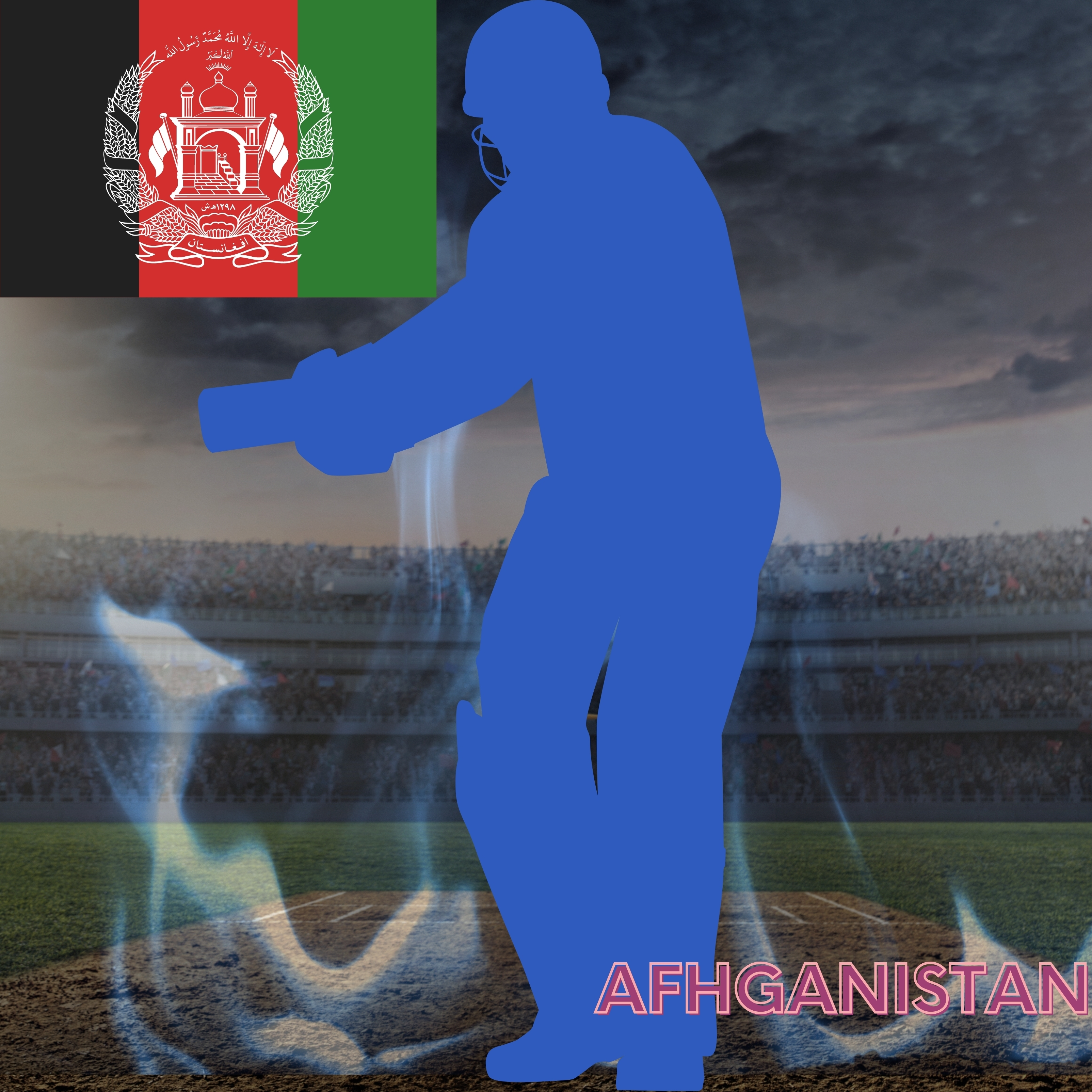 Afhganistan Cricket Stadium iPad Wallpaper