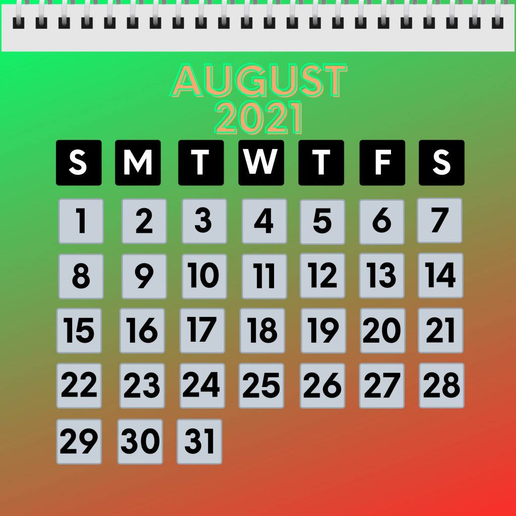 August 2021 Calendar iPad Wallpaper - HD iPad Wallpapers ...