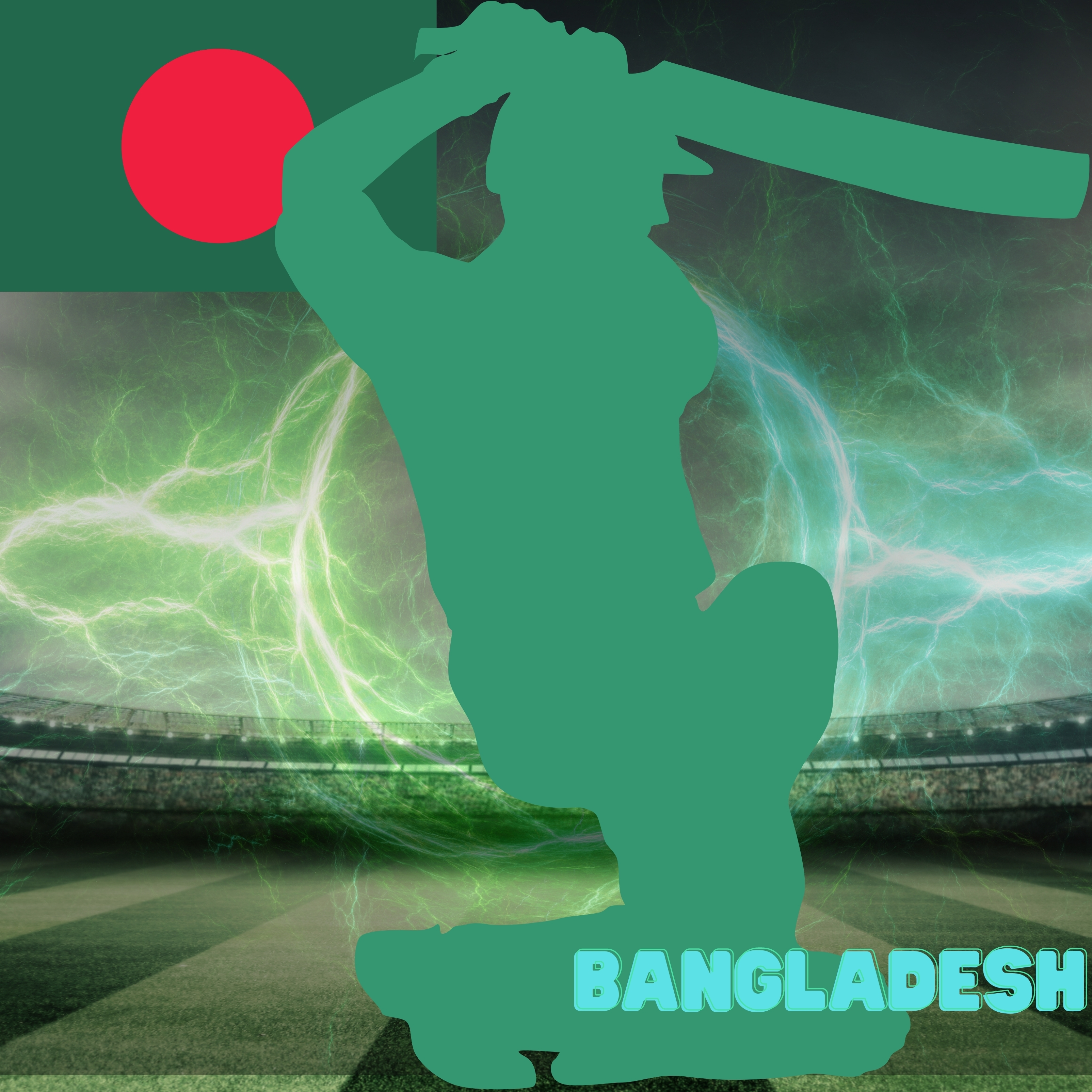 Bangladesh Cricket Stadium iPad Wallpaper