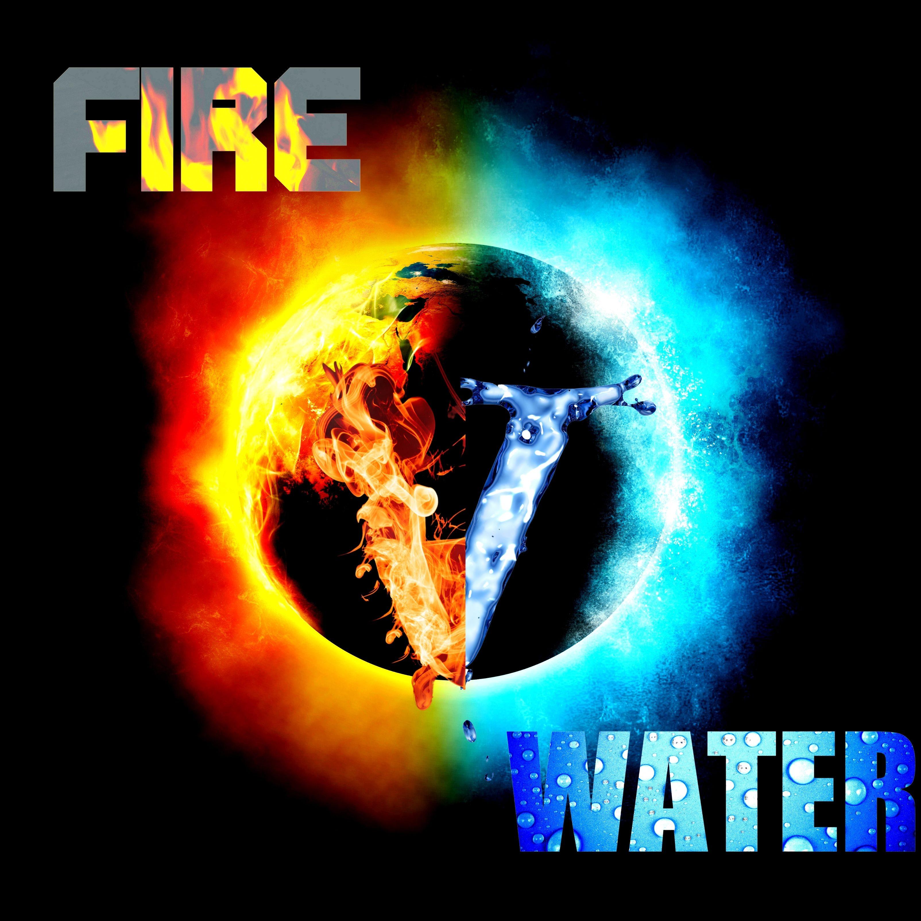 iPad Wallpapers Fire vs Water iPad Wallpaper 3208x3208 px