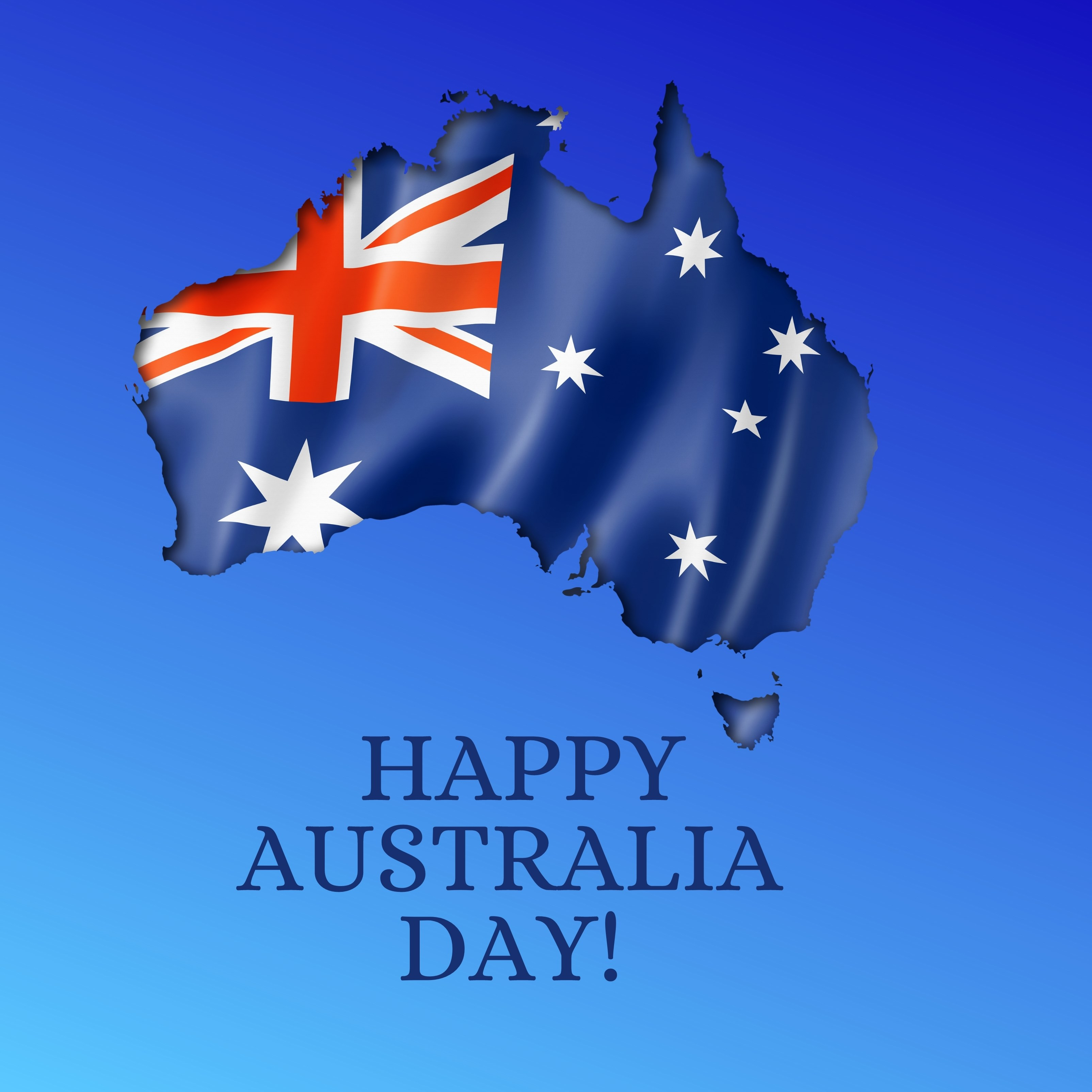 Happy Australia Day iPad Wallpaper