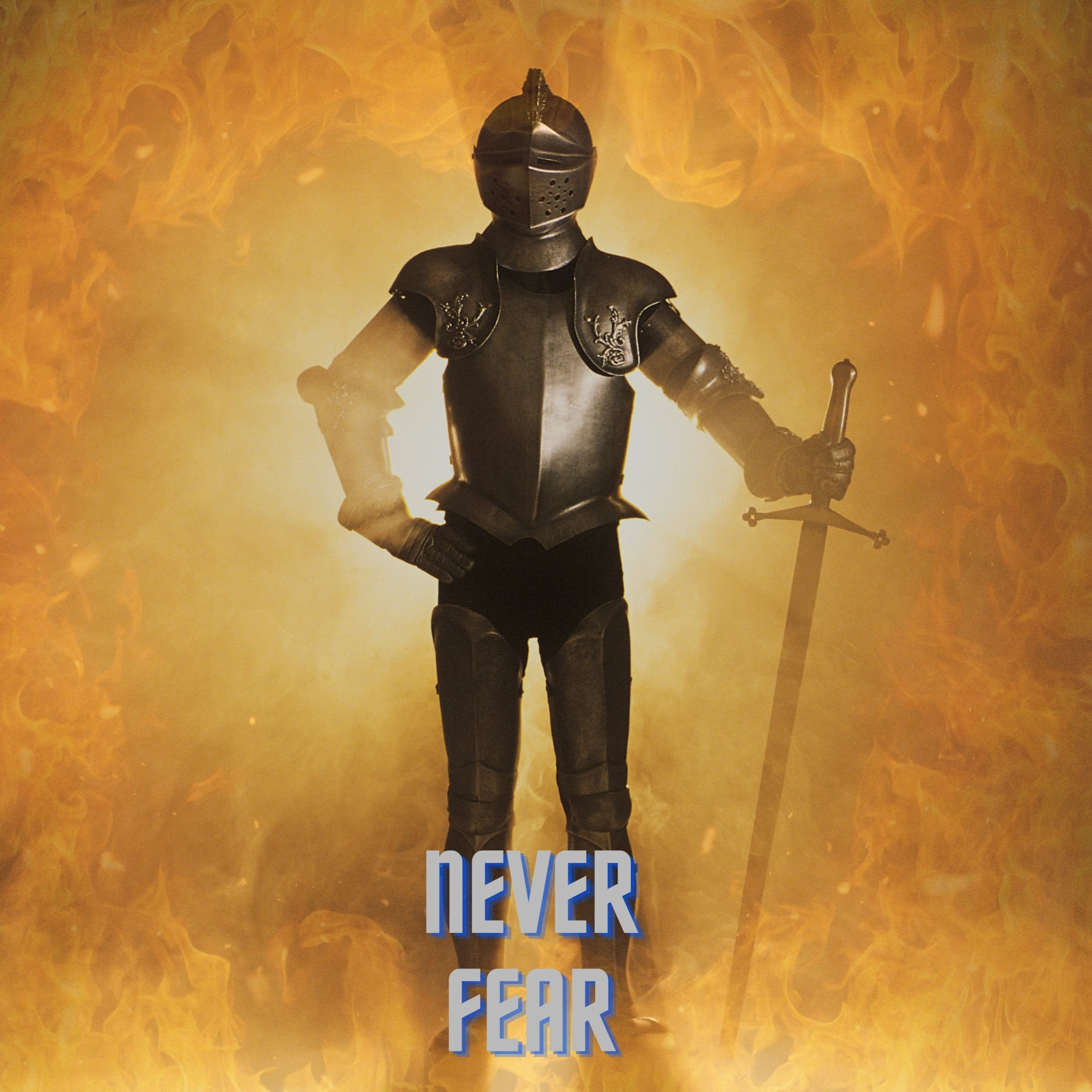 Never Fear knight Ipad Wallpaper