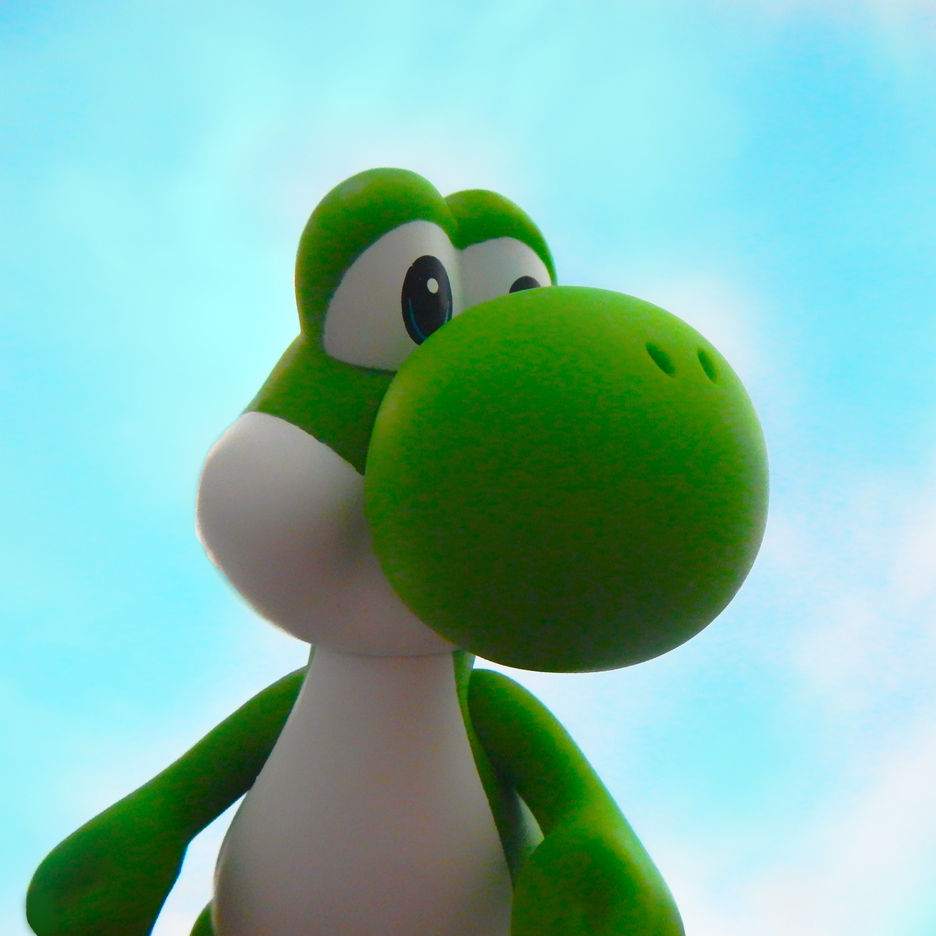 Nintendo Yoshi Mario Bros Game iPad Wallpaper