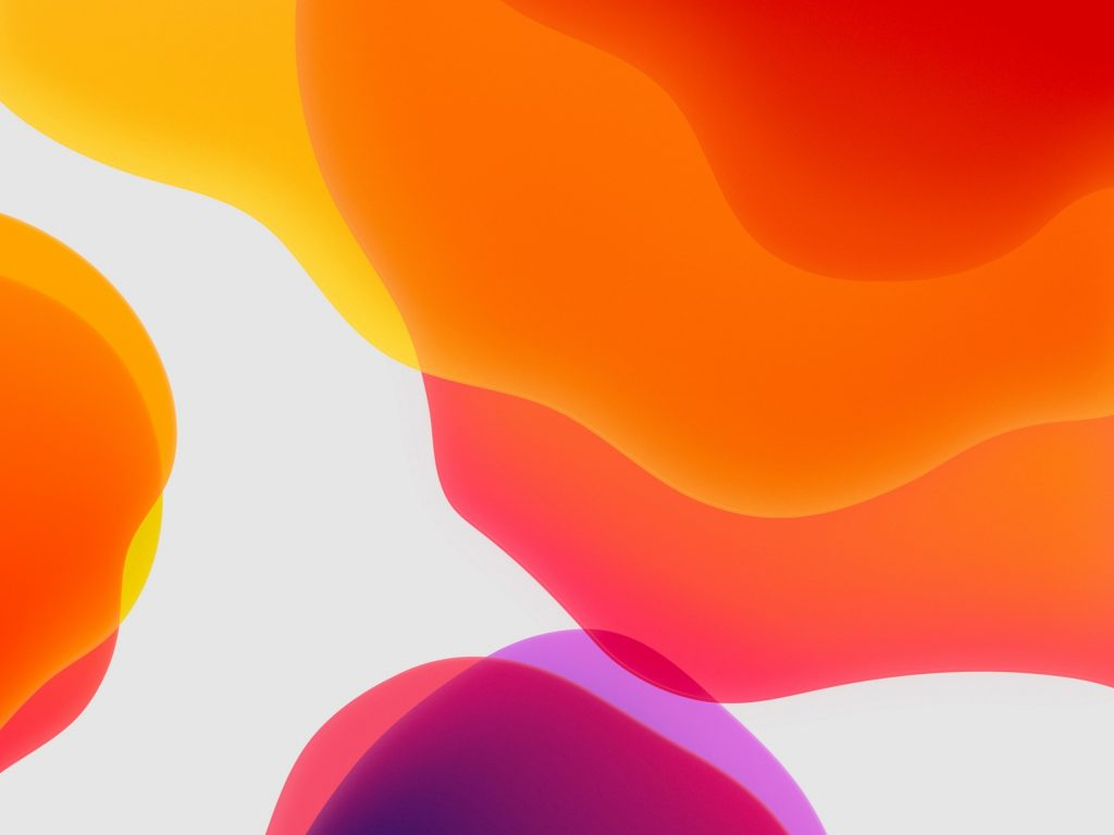1024x768 wallpaper 4k Orange Ipados Ipad Wallpaper 1024x768 pixels resolution