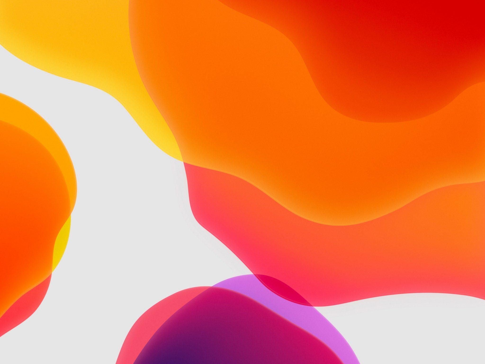 2048x1536 wallpaper Orange Ipados Ipad Wallpaper 2048x1536 pixels resolution
