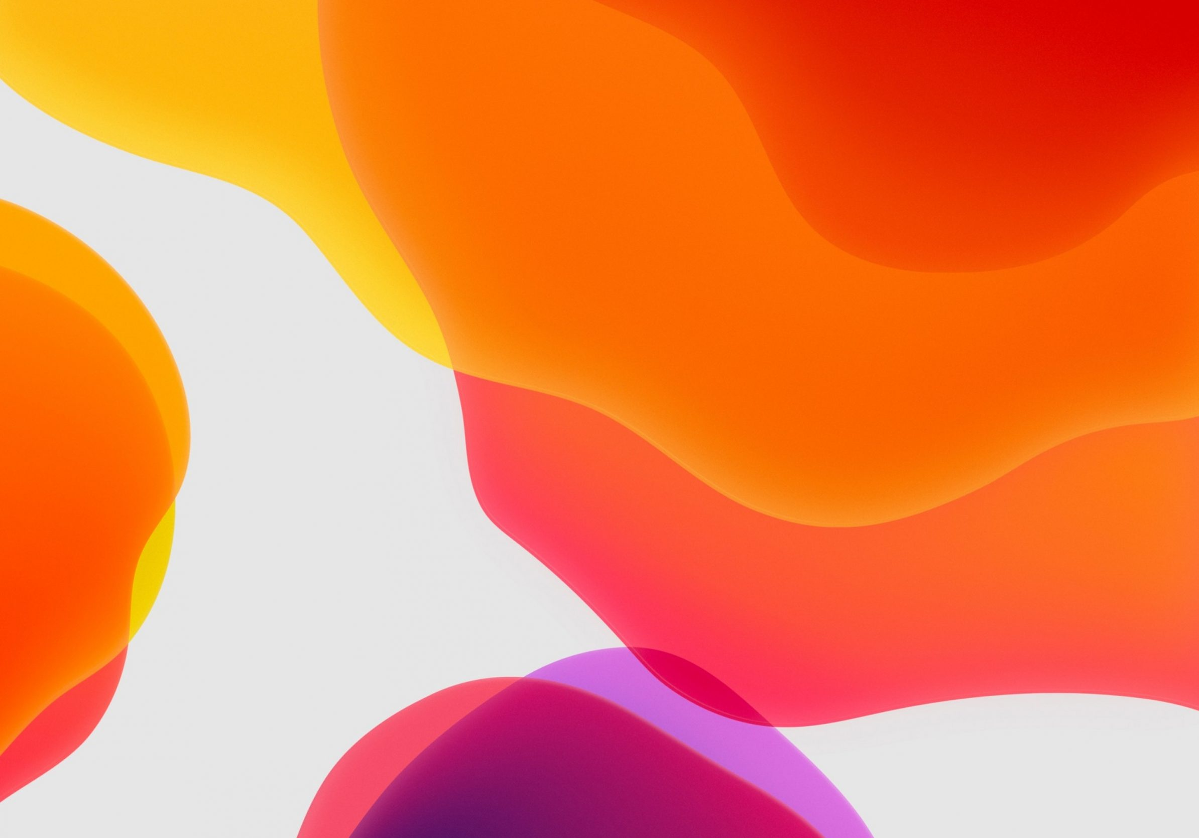 2388x1668 iPad Pro wallpapers Orange Ipados Ipad Wallpaper 2388x1668 pixels resolution