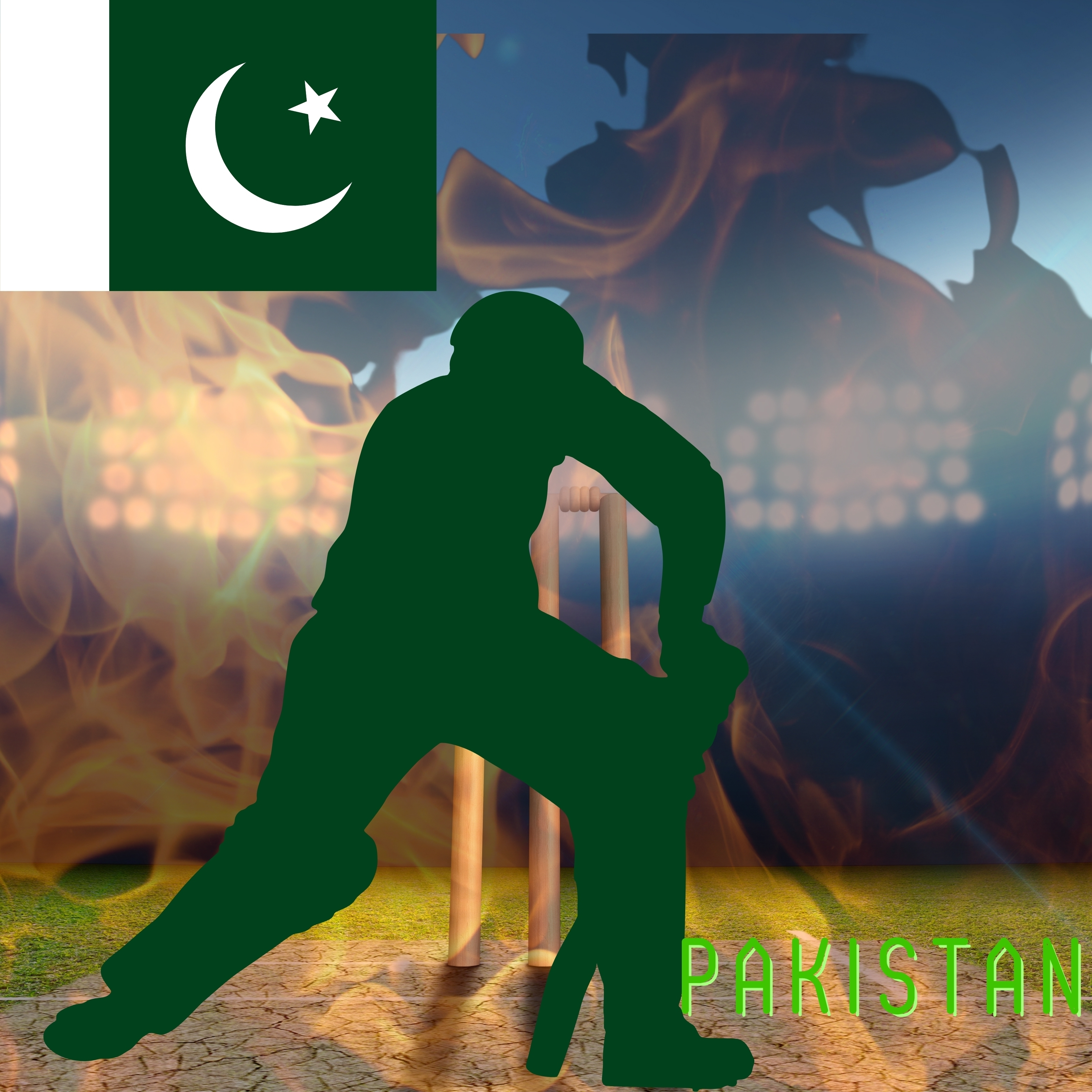 Pakistan Cricket Stadium iPad Wallpaper