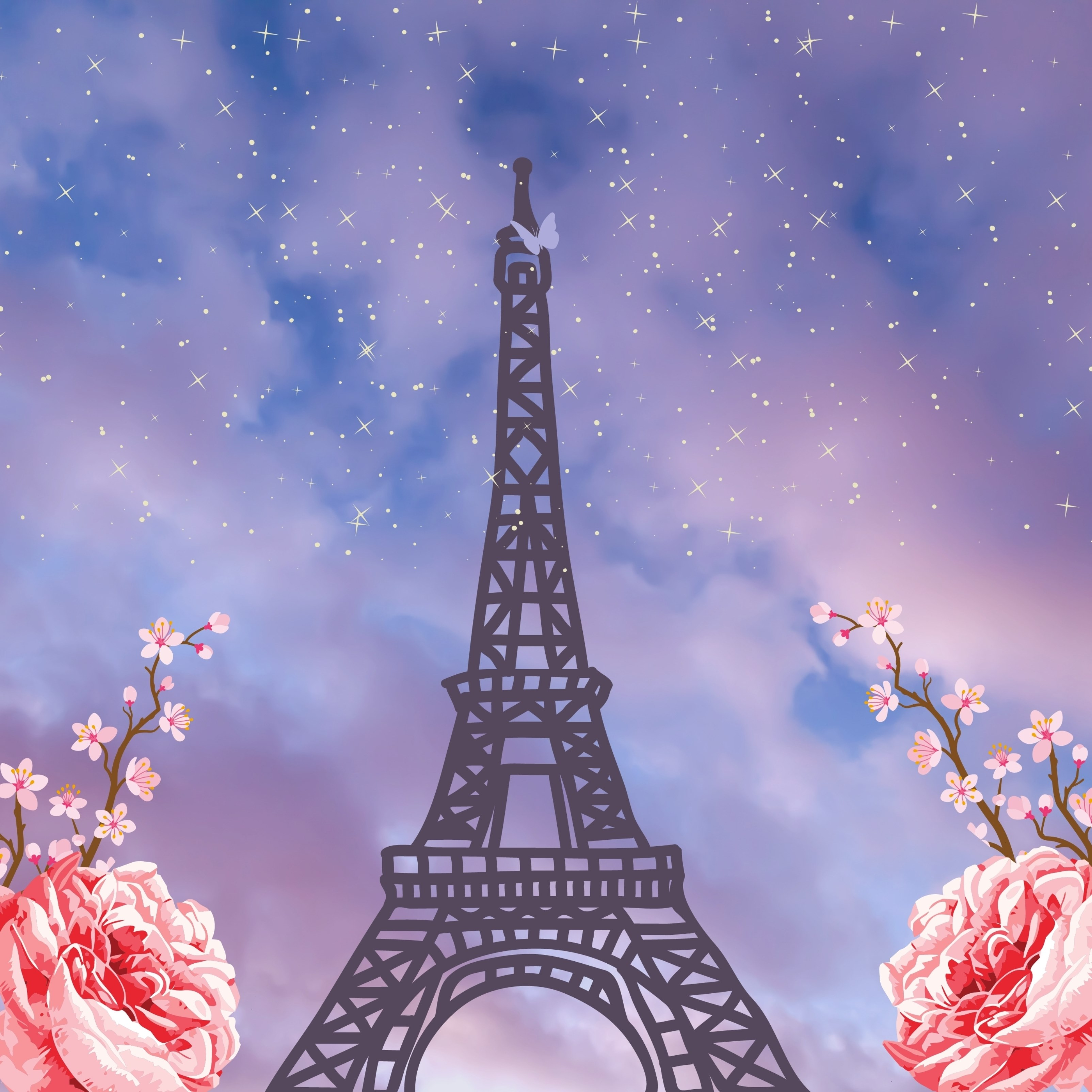 iPad Wallpapers Paris Eiffel Tower Ipad Wallpaper 3208x3208 px