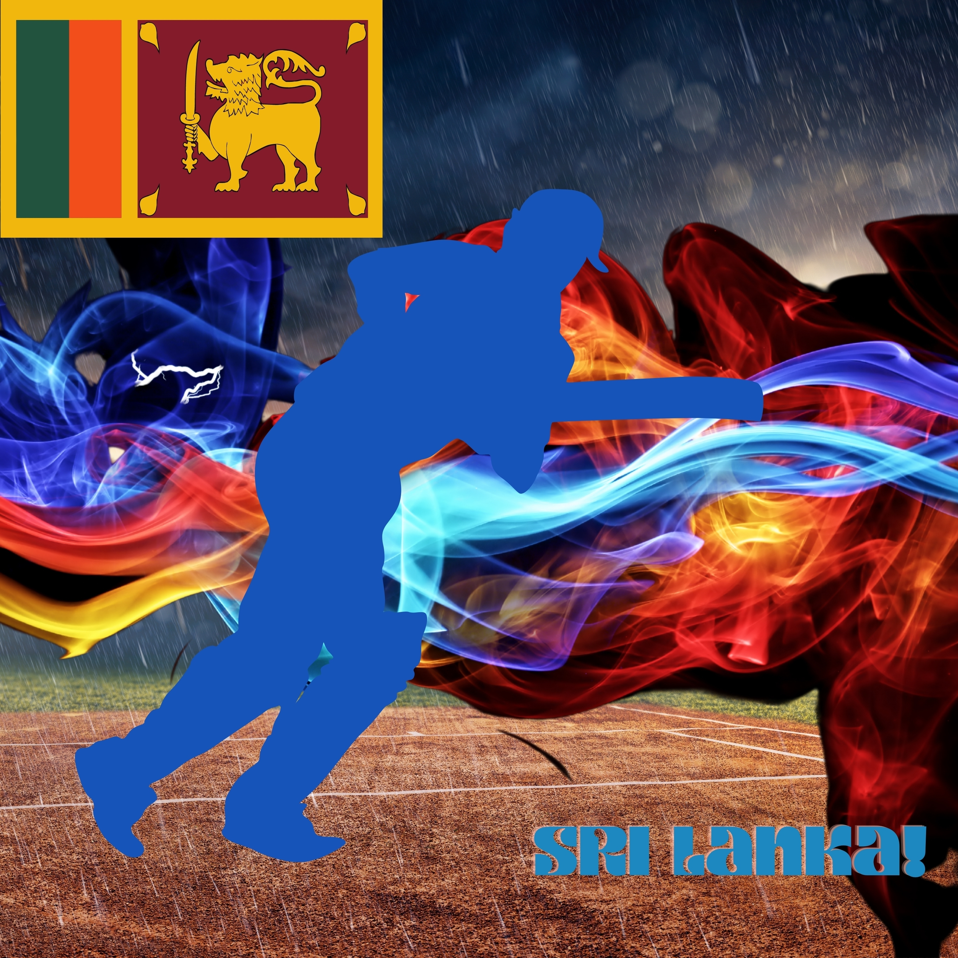 Sri Lanka Cricket Stadium iPad Wallpaper