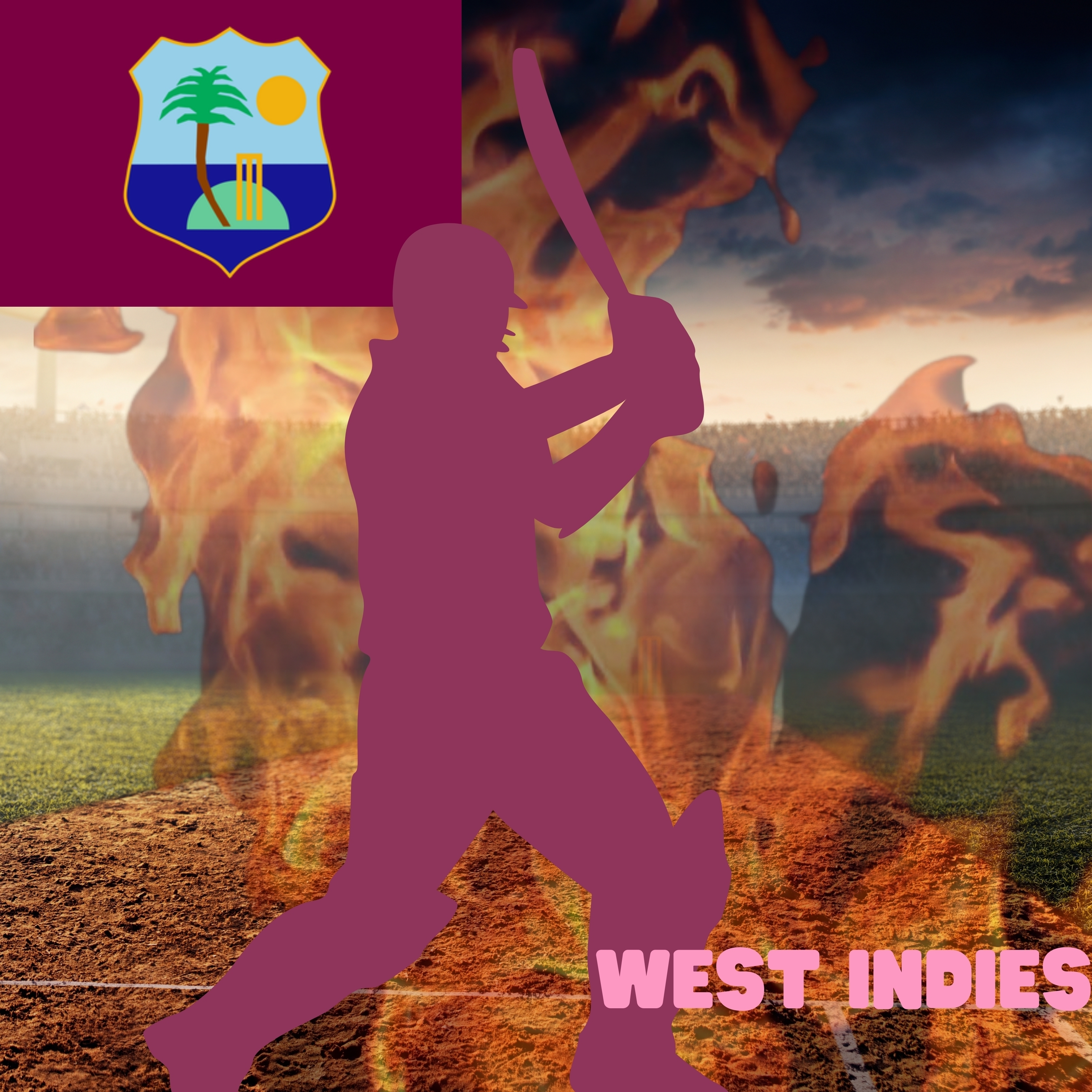 West Indies Cricket Stadium iPad Wallpaper