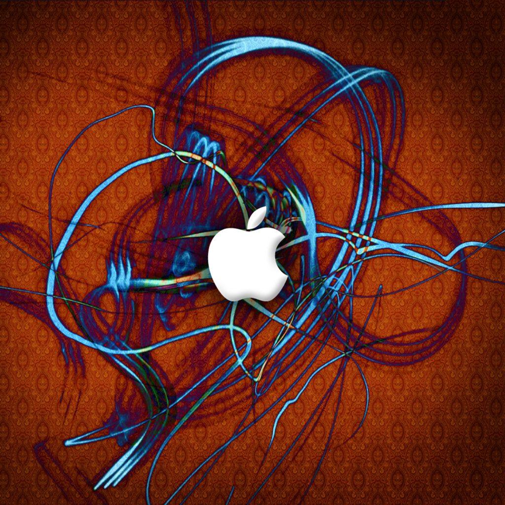 1024x1024 wallpaper 4k Apple Blue Ribbon Ipad Wallpaper 1024x1024 pixels resolution