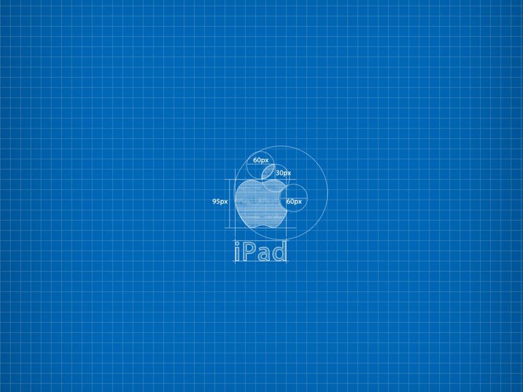 1024x768 wallpaper 4k Apple Blueprint Ipad Wallpaper 1024x768 pixels resolution