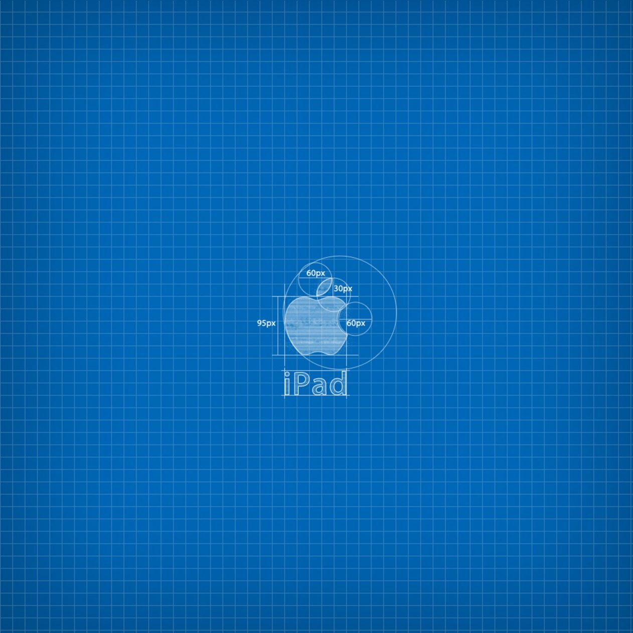 1262x1262 Parallax wallpaper 4k Apple Blueprint Ipad Wallpaper 1262x1262 pixels resolution