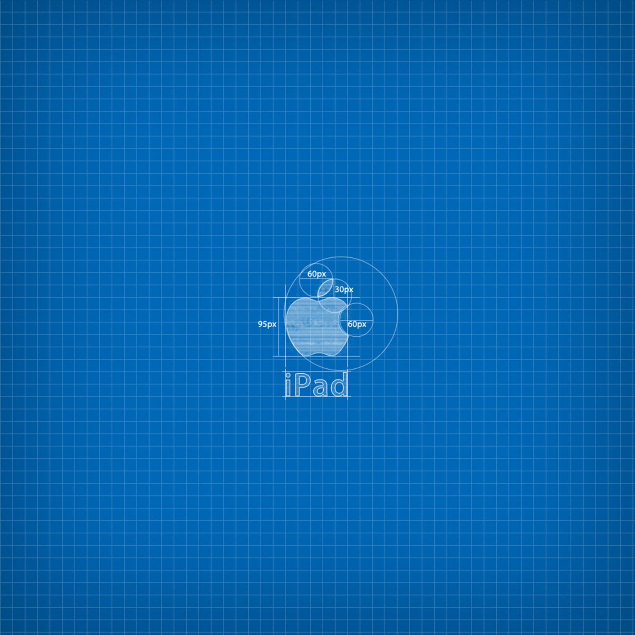 2048x2048 wallpapers iPad retina Apple Blueprint Ipad Wallpaper 2048x2048 pixels resolution