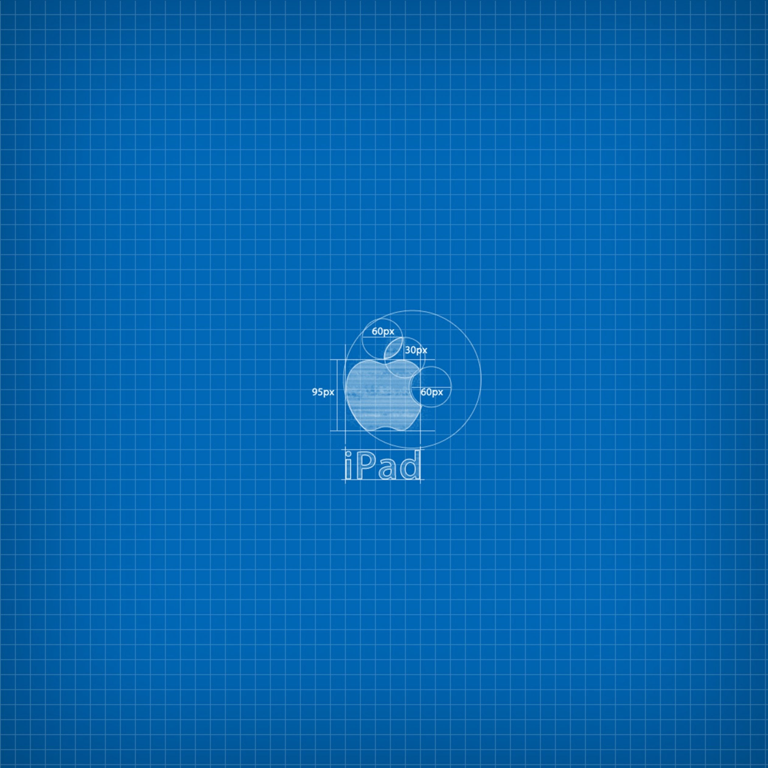 2524x2524 Parallax wallpaper 4k Apple Blueprint Ipad Wallpaper 2524x2524 pixels resolution