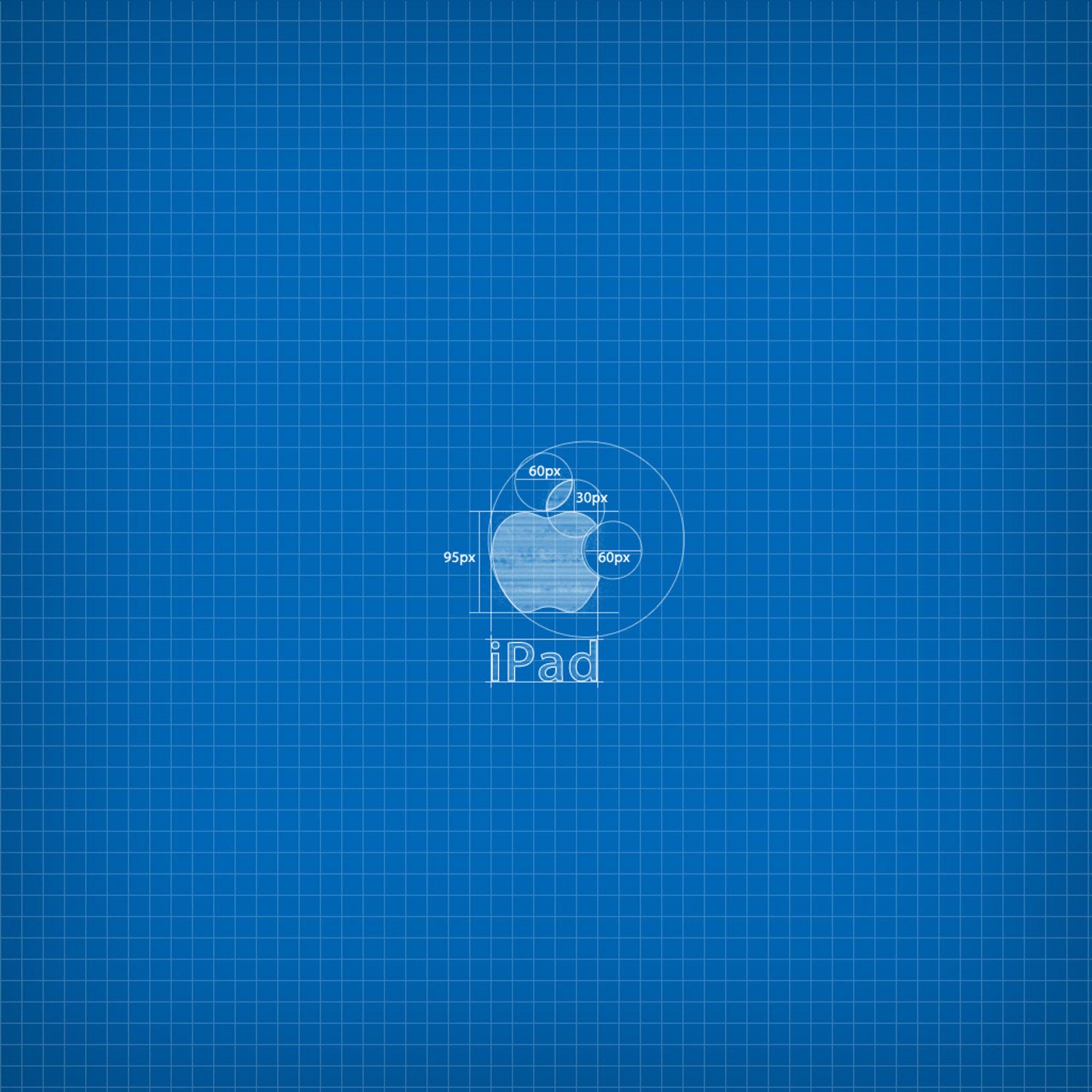 2732x2732 wallpapers 4k iPad Pro Apple Blueprint Ipad Wallpaper 2732x2732 pixels resolution