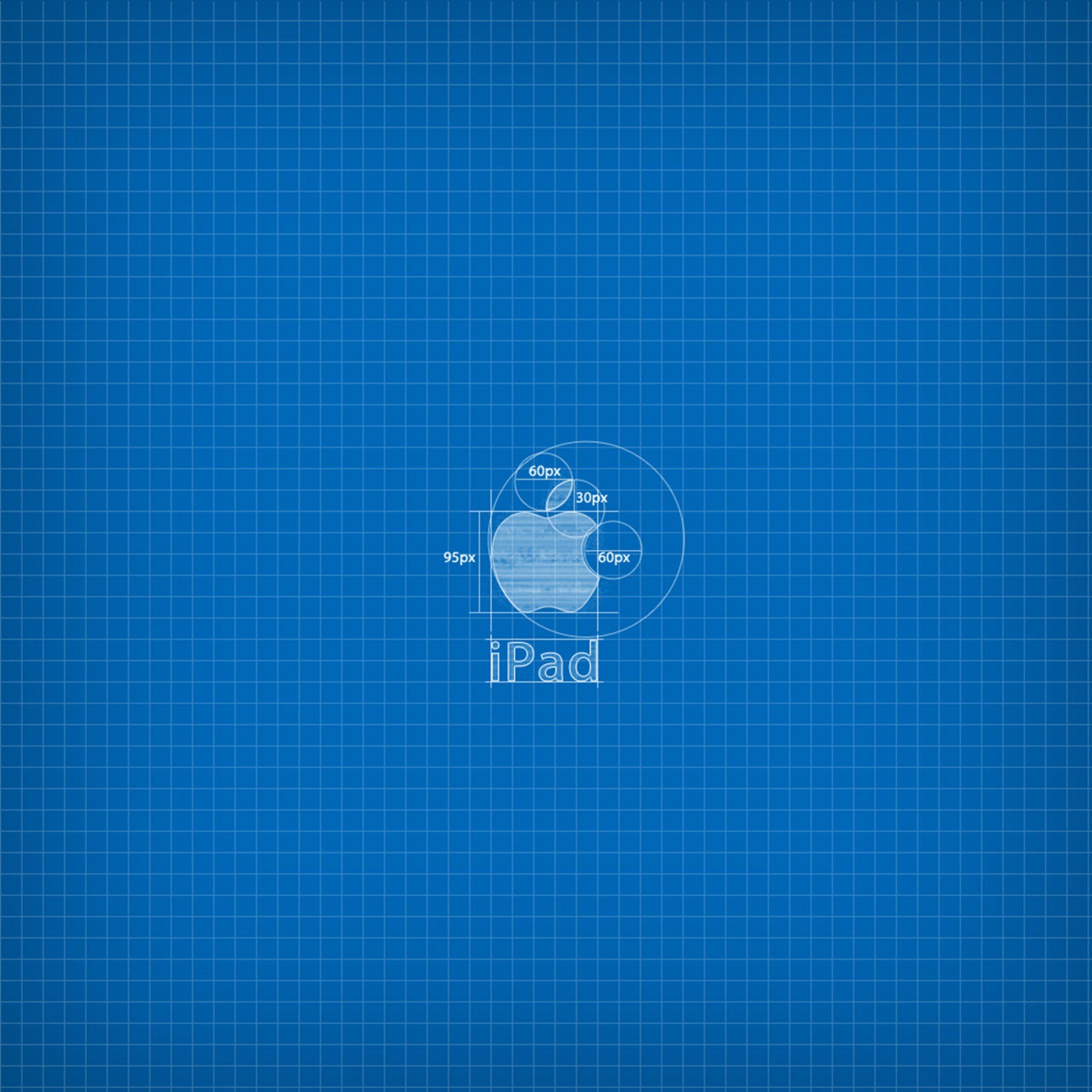 2780x2780 Parallax wallpaper 4k Apple Blueprint Ipad Wallpaper 2780x2780 pixels resolution
