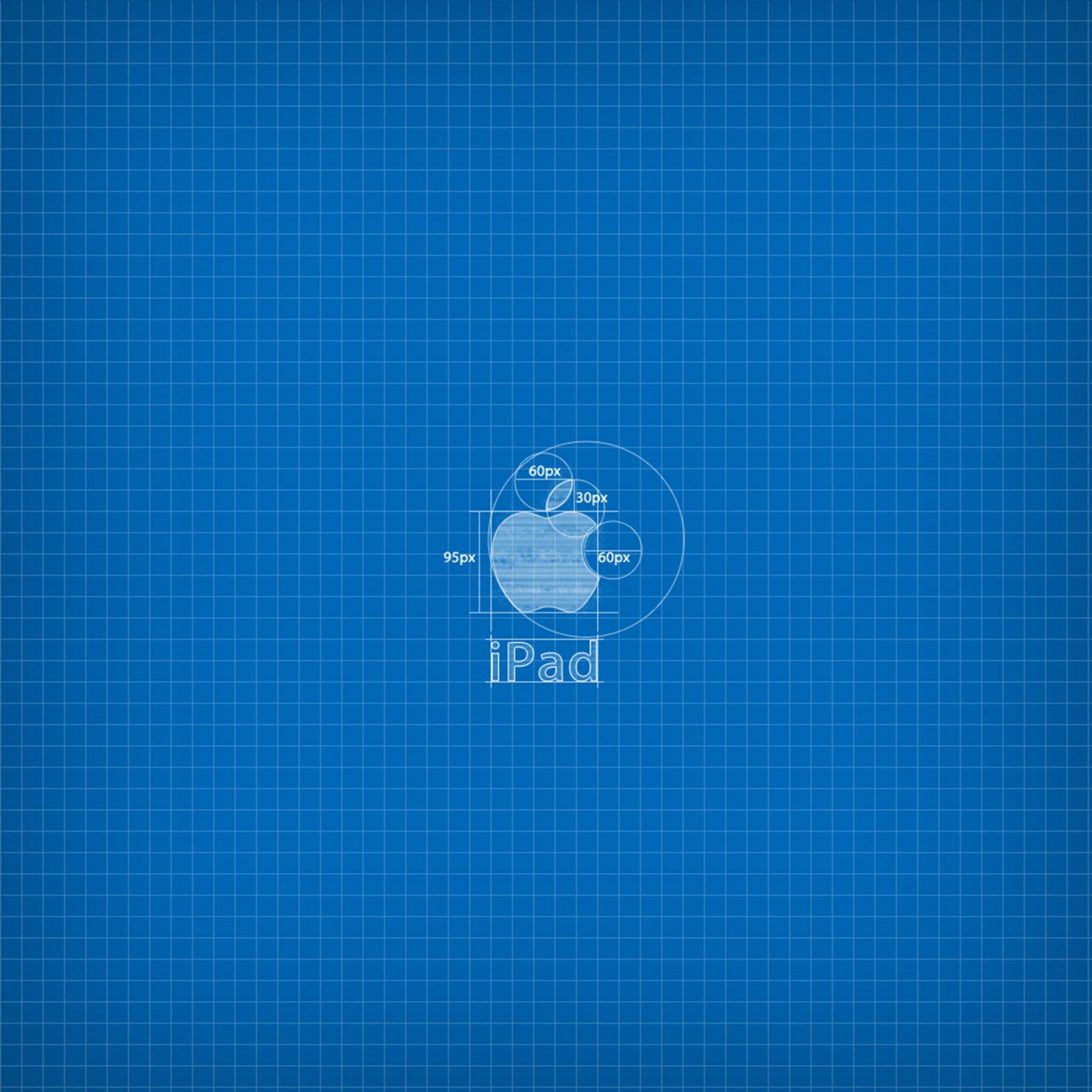 2932x2932 iPad Pro wallpaper 4k Apple Blueprint Ipad Wallpaper 2932x2932 pixels resolution