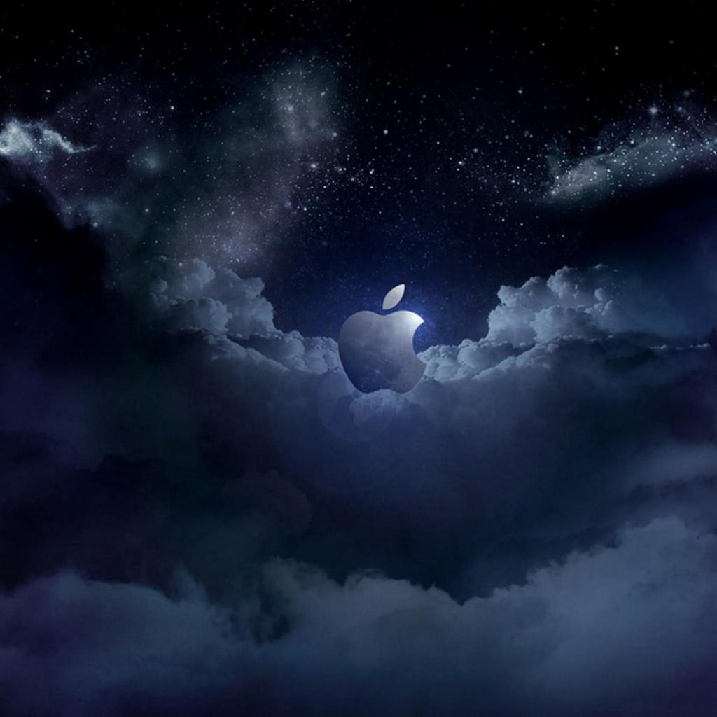 1024x1024 wallpaper 4k Apple Cloud at Night Ipad Wallpaper 1024x1024 pixels resolution