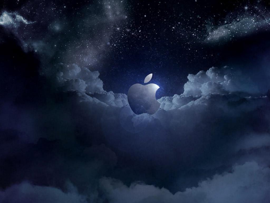 1024x768 wallpaper 4k Apple Cloud at Night Ipad Wallpaper 1024x768 pixels resolution