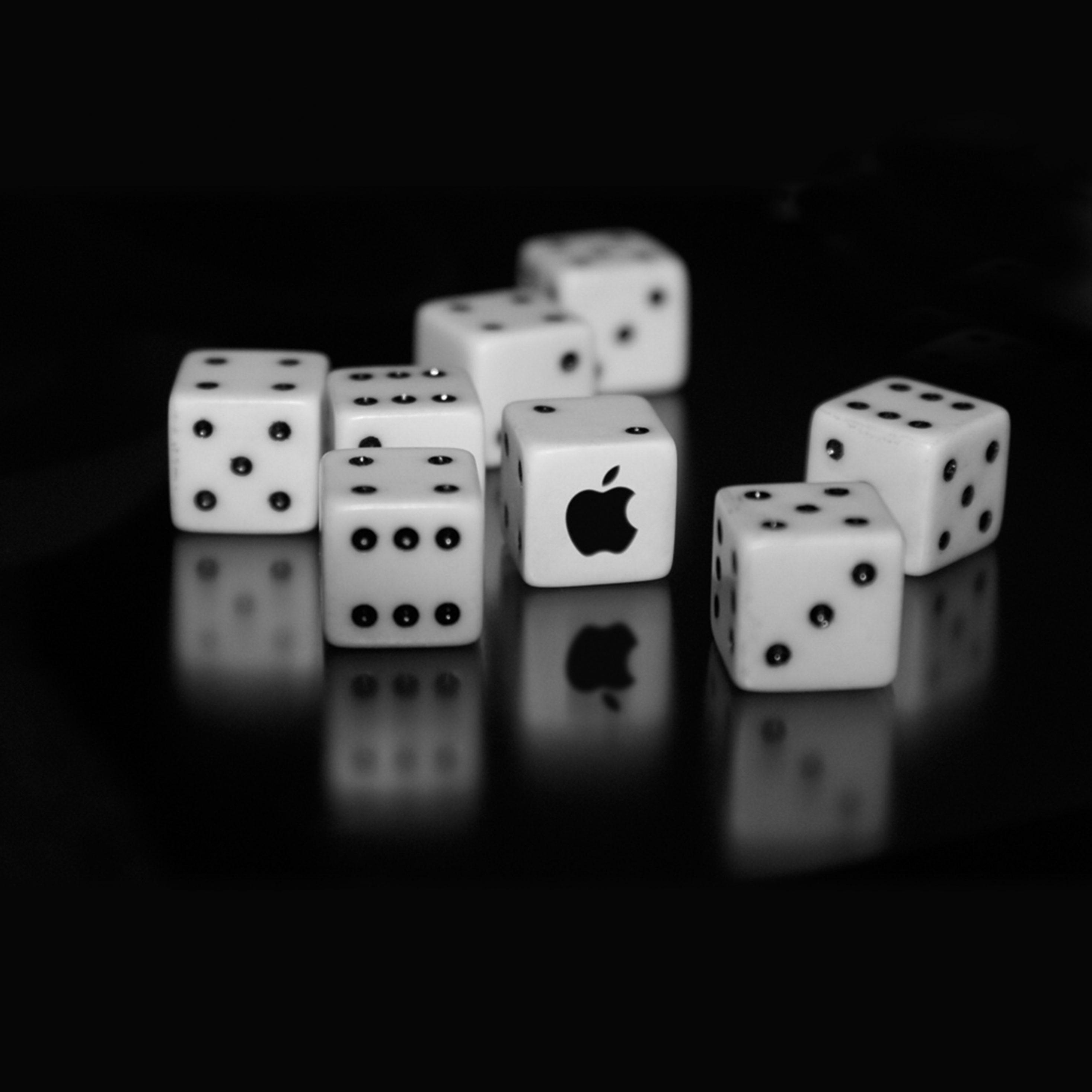 2934x2934 iOS iPad wallpaper 4k Apple Logo Dice Ipad Wallpaper 2934x2934 pixels resolution