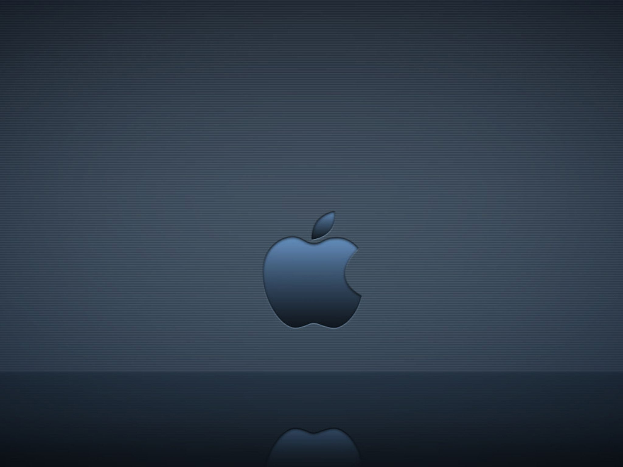 2048x1536 wallpaper Apple Logo Reflection Ipad Wallpaper 2048x1536 pixels resolution