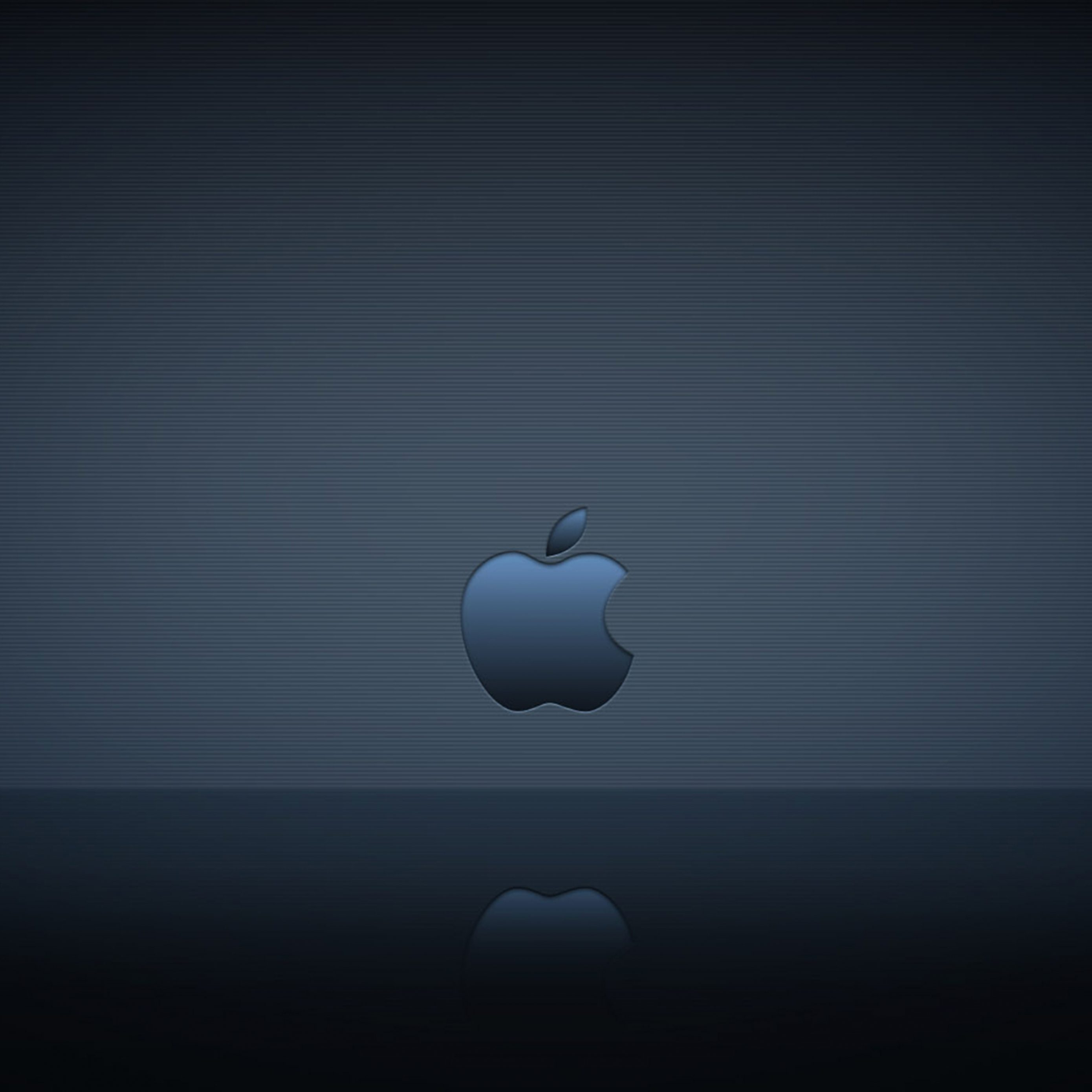 2780x2780 Parallax wallpaper 4k Apple Logo Reflection Ipad Wallpaper 2780x2780 pixels resolution