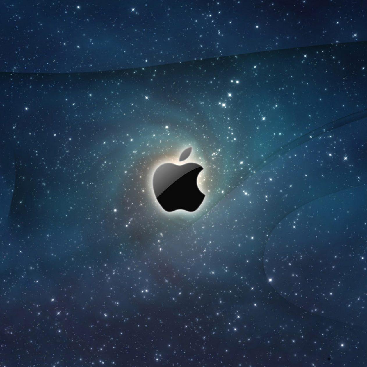 1262x1262 Parallax wallpaper 4k Apple Space Ipad Wallpaper 1262x1262 pixels resolution