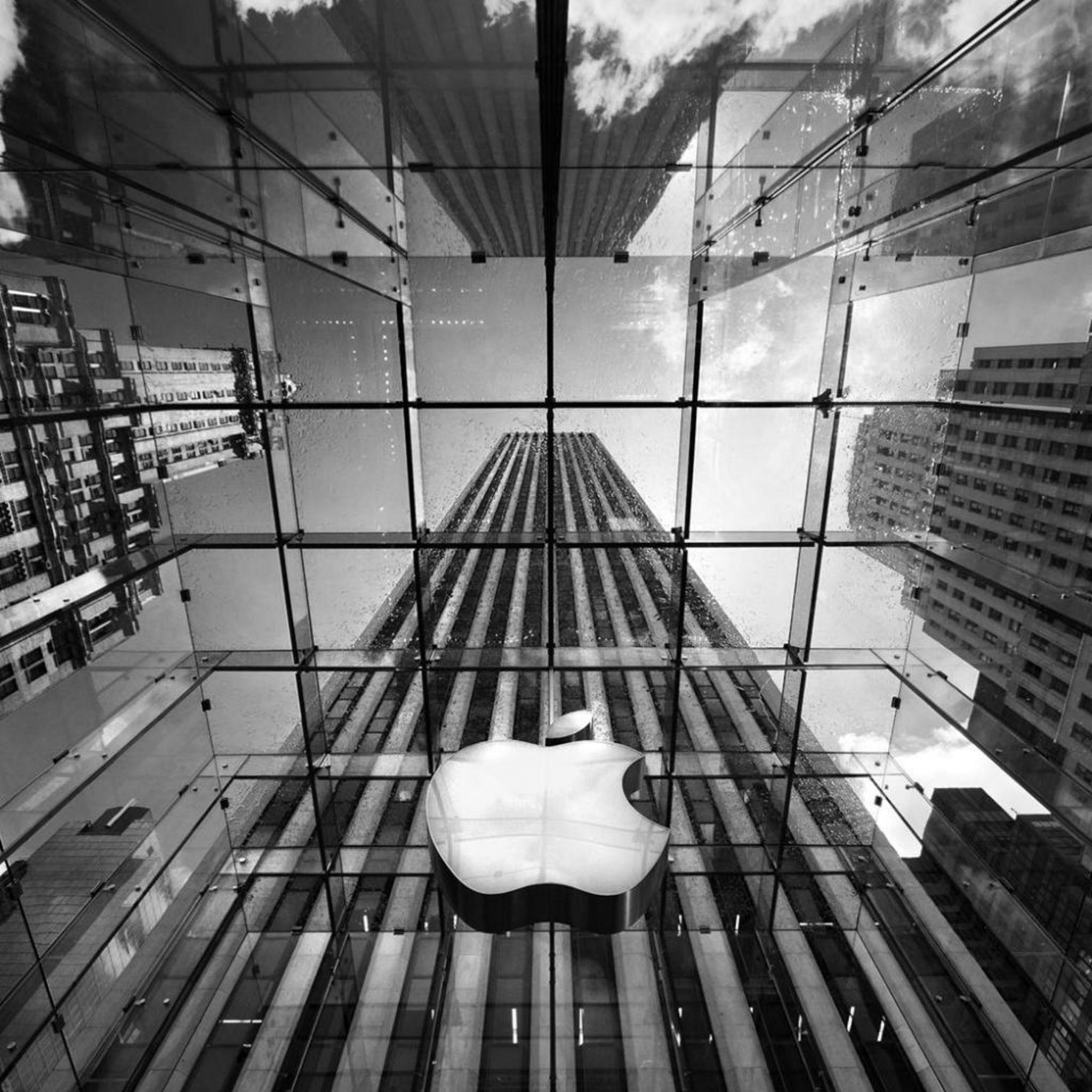 2048x2048 wallpapers iPad retina Apple Store Nyc Ipad Wallpaper 2048x2048 pixels resolution