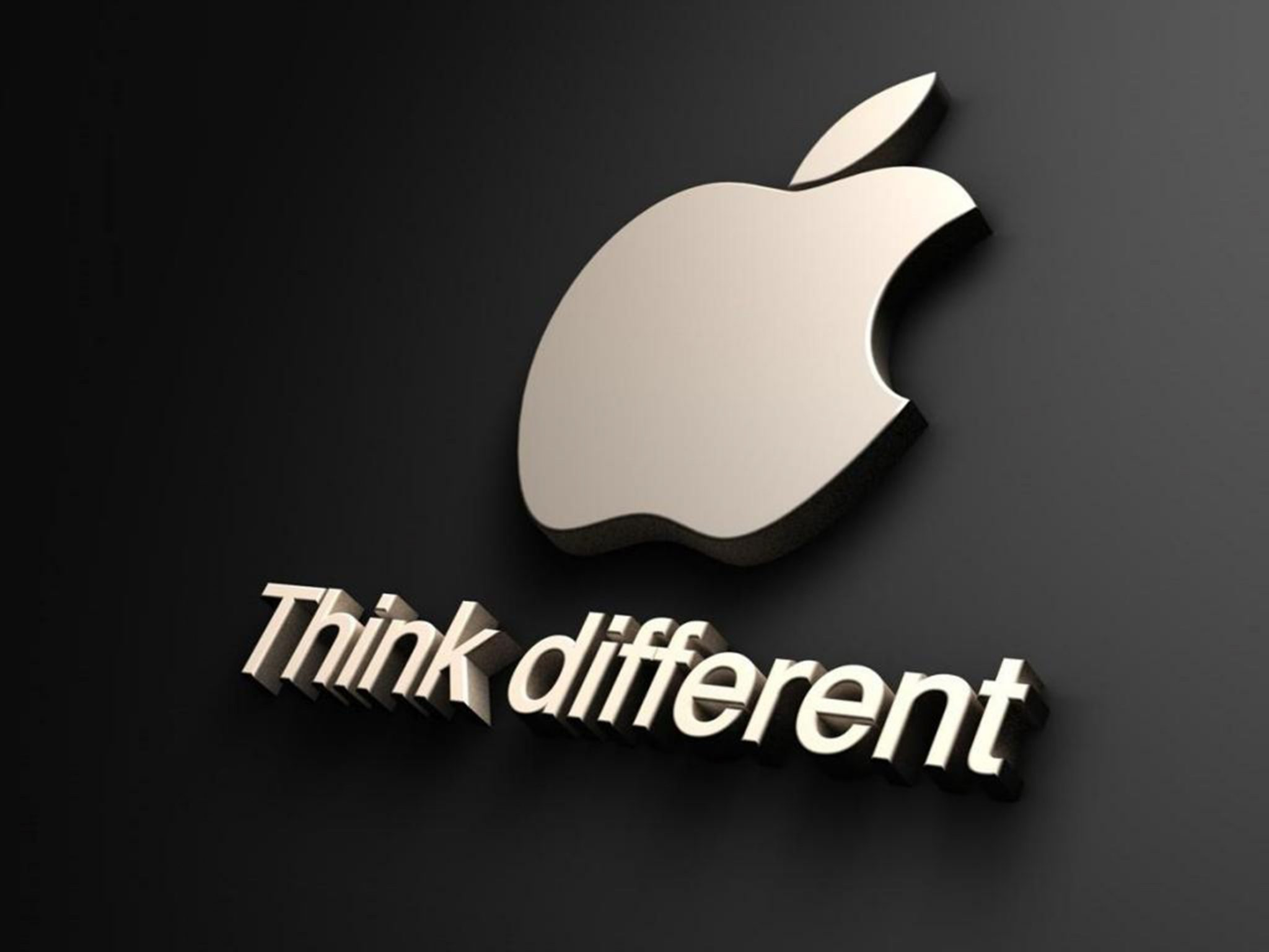 2048x1536 wallpaper Apple Think Different Ipad Wallpaper 2048x1536 pixels resolution