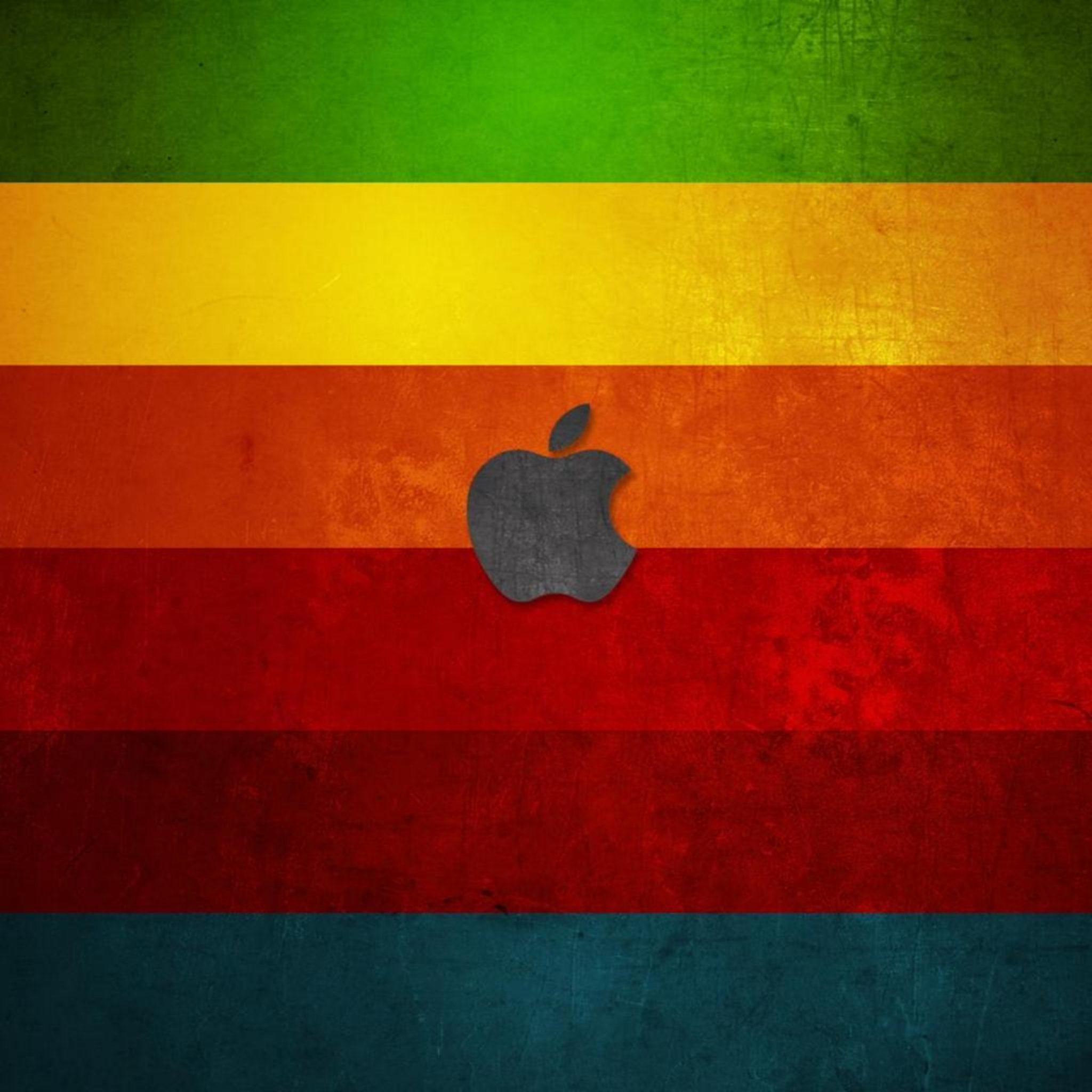 2048x2048 wallpapers iPad retina Apple With Colors Ipad Wallpaper 2048x2048 pixels resolution