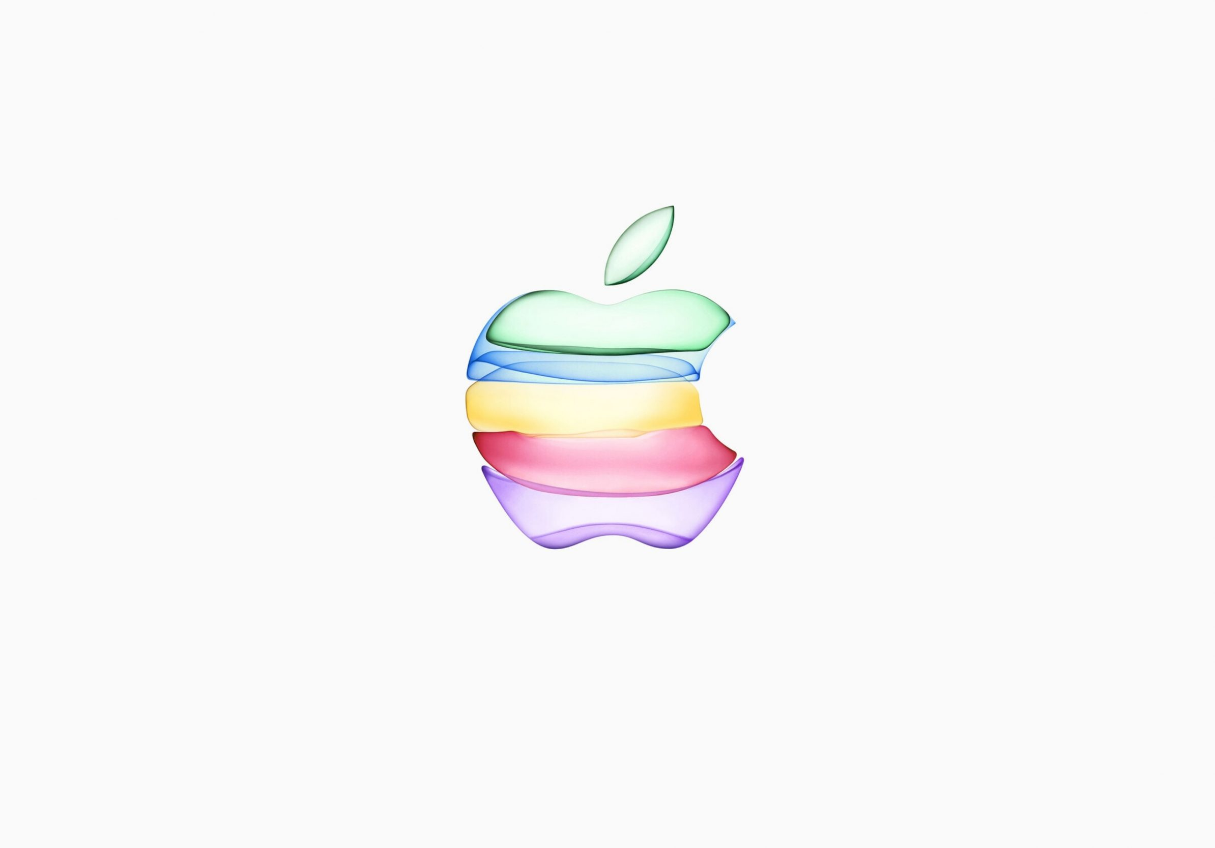 2388x1668 iPad Pro wallpapers iPhone 11 Apple Logo White Background iPad Wallpaper 2388x1668 pixels resolution