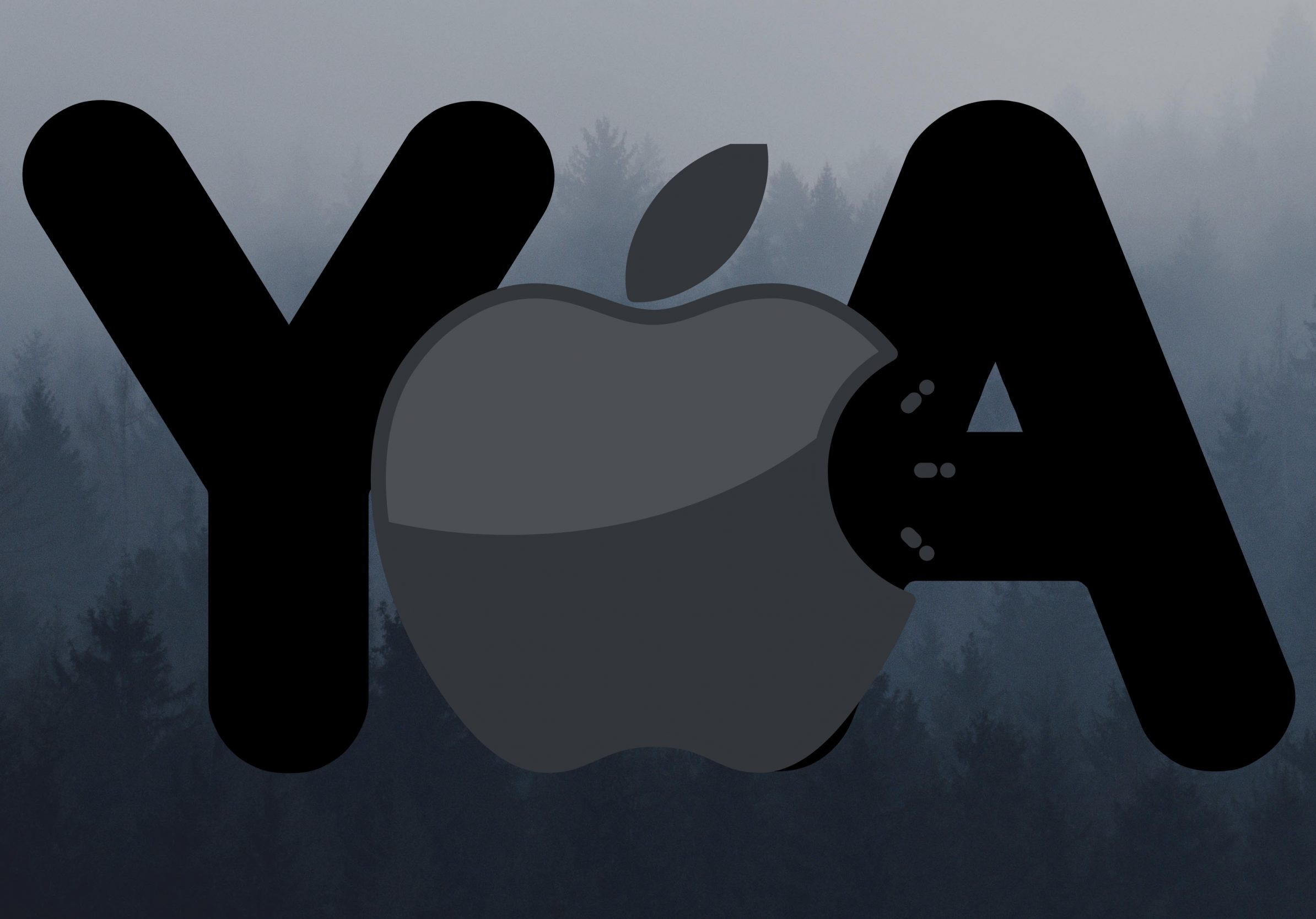 2388x1668 iPad Pro wallpapers Apple Logo Ya Grey Background iPad Wallpaper 2388x1668 pixels resolution