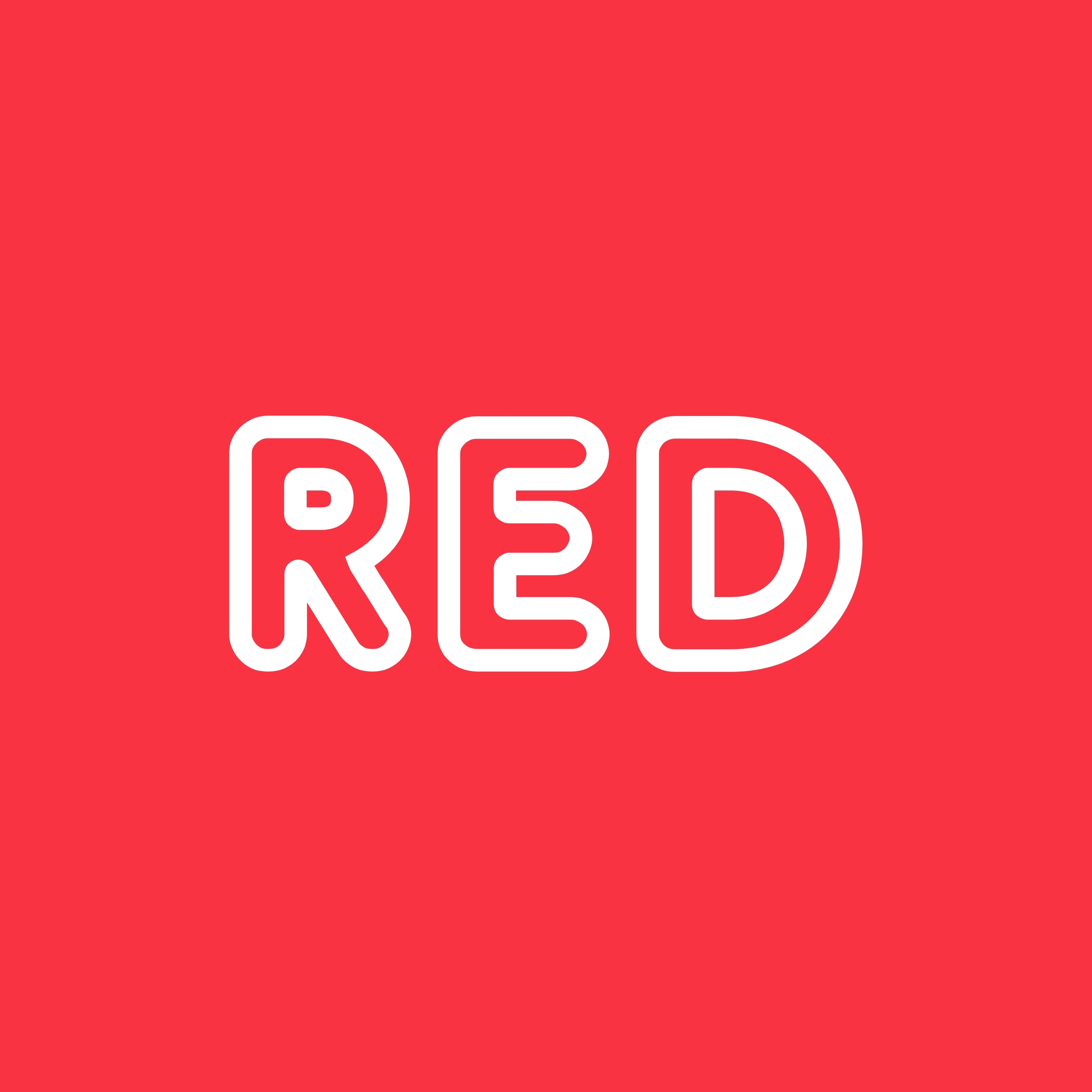 Red Background iPad Wallpaper
