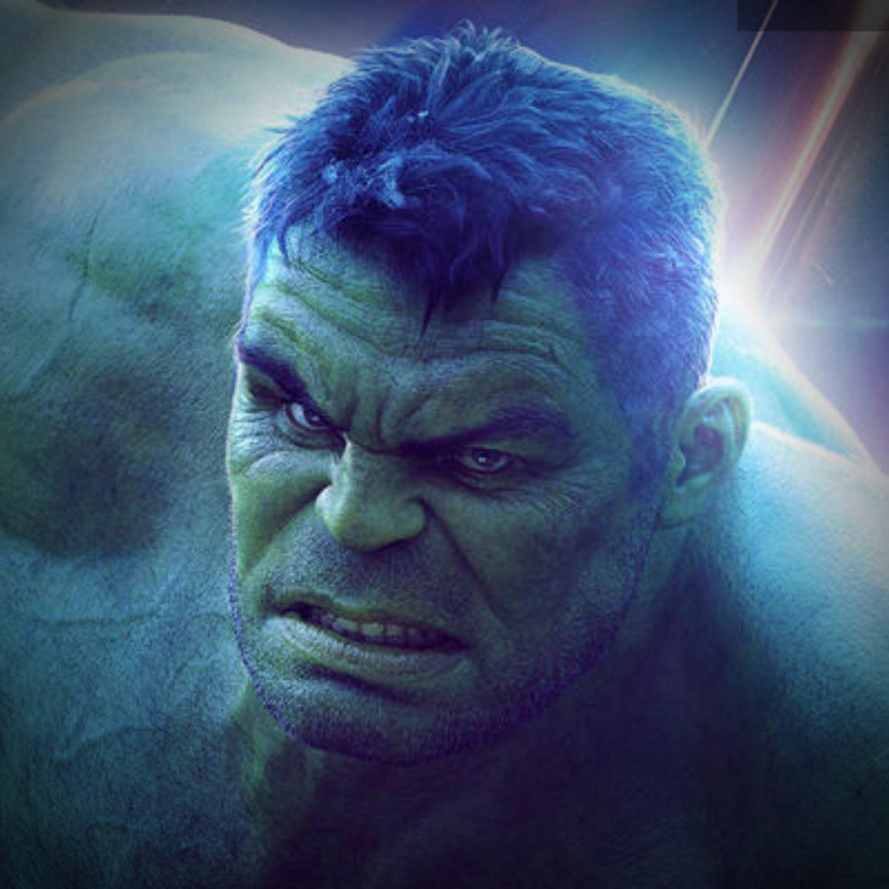 1262x1262 Parallax wallpaper 4k Hulk Marvel iPad Wallpaper 1262x1262 pixels resolution