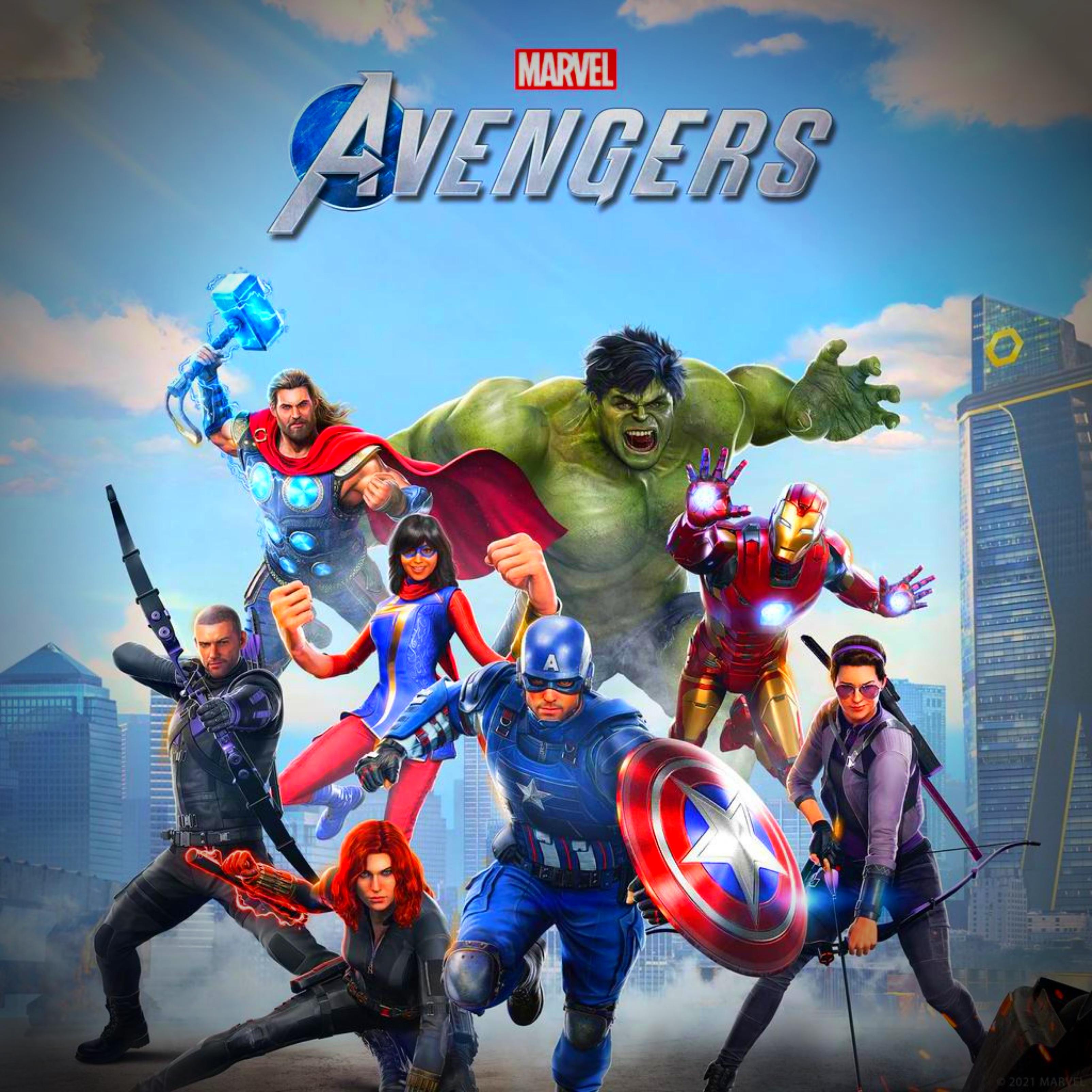 Marvel Avengers iPad Wallpaper
